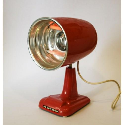 ♥ LAMPADA SOL RAGGI UV IR ELCHIM VINTAGE DESIGN DECO' COLORE ROSA solare ANNI 60