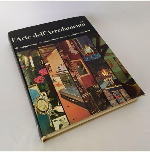 ♥ L'ARTE DELL'ARREDAMENTO di rappresentanza romantico... Ed. Krachmalnicoff 1963