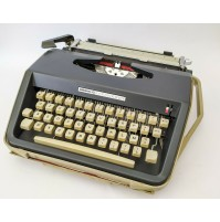 ♥ MACCHINA DA SCRIVERE ANTARES 20 EFFICIENCY VINTAGE DESIGN ANNI 70 space age