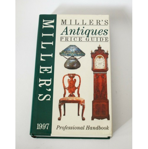 ♥ MILLER'S ANTIQUES PRICE GUIDE 1997 libro arte