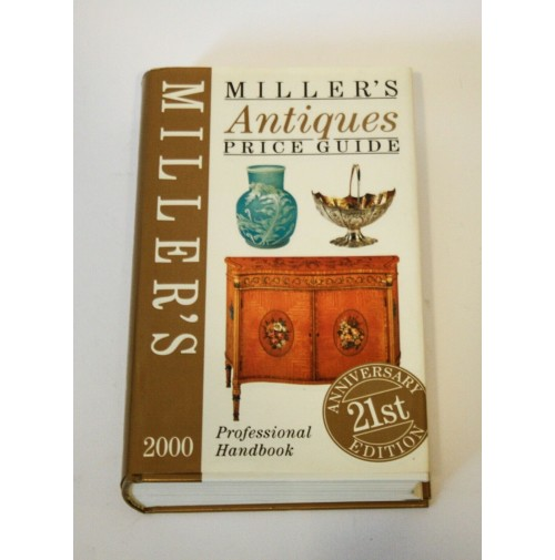 ♥ MILLER'S ANTIQUES PRICE GUIDE 2000 libro arte