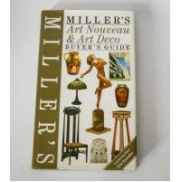♥ MILLER'S ART NOUVEAU & ART DECO BUYER'S GUIDE 1995 libro arte