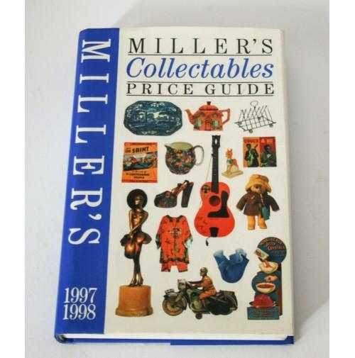 ♥ MILLER'S COLLECTABLES PRICE GUIDE 1997 1998 libro arte antiquariato