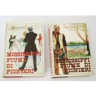 ♥ MISSISSIPPI FIUME DI PIONIERI 2 VOLUMI Thomas W. Duncan Baldini & Castoldi W75