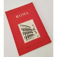 ♥ PANORAMI DI ARCHITETTURA ROMA Giulio Pelà Vitali e Ghianda 1956 SM108
