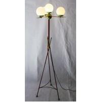 ♥ PIANTANA FLOOR LAMP VINTAGE DESIGN MIDCENTURY ITALIAN ANNI 50 STILNOVO 5 LUCI
