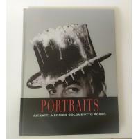 ♥ PORTRAITS RITRATTI A ENRICO COLOMBOTTO ROSSO Edizione Attini Numerata 2010
