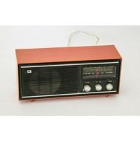 ♥ RADIO IRRADIO RF 1007 AM FM VINTAGE SPACE AGE TRASNISTOR ANNI 70 ARANCIO