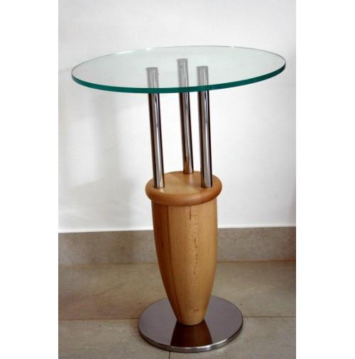 ♥ RARO TAVOLINO ANTONIO DESIGN MARCO ZANUSO MEMPHIS 1987 SIDE TABLE FAGGIO