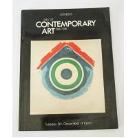 ♥ SOTHEBY'S SALE OF CONTEMPORARY ART 1945-1978 5 DICEMBRE CATALOGO ASTA