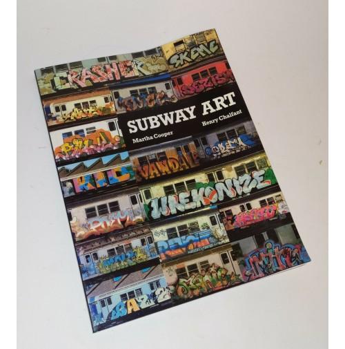 ♥ SUBWAY ART Martha Cooper Henry Chalfant 1995 Street Art book P28