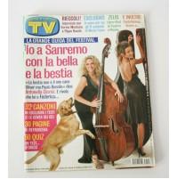 ► TV SORRISI E CANZONI ANNO LIV N. 10 5 MARZO 2005 FESTIVAL SANREMO