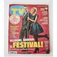► TV SORRISI E CANZONI ANNO LXII N.6 9 FEBBRAIO 2013 FESTIVAL SANREMO