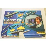 ► U-BOOT PK8 ELECTROSONIC CLEMENTONI GIOCO VINTAGE BATTAGLIA NAVALE ANNI 70 80
