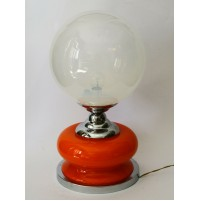 ♥ VINTAGE DESIGN SPACE AGE LAMP LAMPADA VETRO MINI BIRILLO ANNI 70 mazzega era