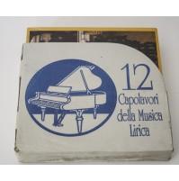 12 CAPOLAVORI DELLA MUSICA LIRICA 12 LP DISCHI 33 GIRI INCELLOFANATI NUOVI