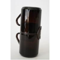 2 TAZZE POCKET COFFEE FERRERO IN VETRO BAR PUBBLICITARIO VINTAGE MUG BICCHIERI