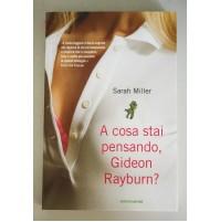A COSA STAI PENSANDO, GIDEON RAYBURN? Sarah Miller Mondadori 2006 Z32