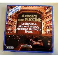 A TEATRO CON PUCCINI COFANETTO 10 LP 33 GIRI SELEZIONE CLASSICA