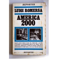 AMERICA 2000 Luigi Romersa Reporter Edizioni 1968 C22