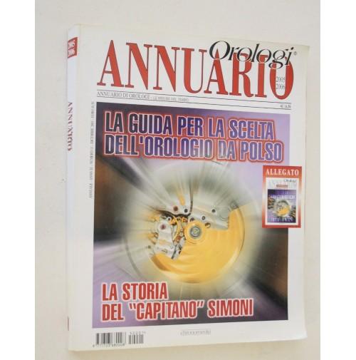 ANNUARIO OROLOGI 2005-2006  La storia del capitano Simone M51