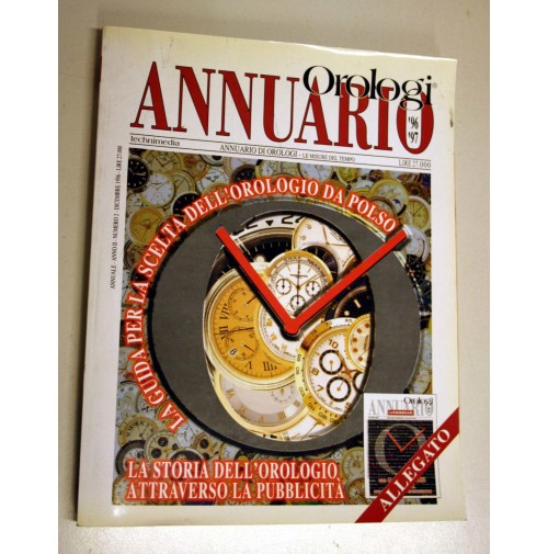 ANNUARIO OROLOGI '96-'97 1996 Le misure del Tempo Technimedia M46