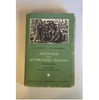 ANTOLOGIA DELLA LETTERATURA ITALIANA ORIGINI E TRECENTO Galletti Chiorboli L38