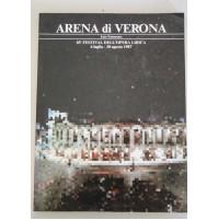 ARENA DI VERONA 65° FESTIVAL DELL'OPERA LIRICA 1987 Q19
