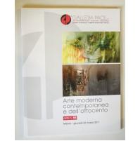 ARTE MODERNA E CONTEMPORANEA  E 800 GALLERIA PACE CATALOGO ASTA N. 93 MARZO 2011