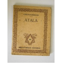 ATALA CHATEAUBRIAND Bibliotheque Rhombus Paris Vienne 1922 W27