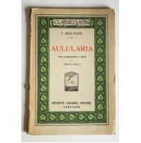 AULULARIA T. Macci Plauti Carabba Editore 1930 N05