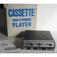 AUTORADIO SONIC CASSETTE CAR STEREO PLAYER VINTAGE ANNI 70 voxson