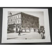 BARI, CORSO CAVOUR CAMERA DI COMM. 1910 Stampa foto repro Alinari la Repubblica