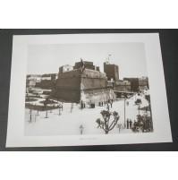 BARI, IL CASTELLO 1930 Stampa foto repro Alinari la Repubblica