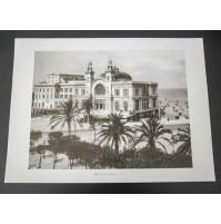 BARI, IL TEATRO MARGHERITA 1915 ca. Stampa foto repro Alinari la Repubblica