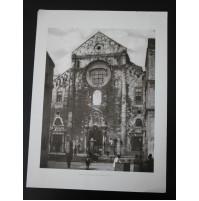 BARI, LA CATTEDRALE DI S. SABINO 1920 Stampa foto repro Alinari la Repubblica
