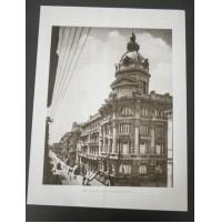 BARI, VIA SPARANO PALAZZO MINCUZZI 1930 Stampa foto repro Alinari la Repubblica