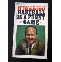 BASEBALL IS A FUNNY GAME by Joe Garagiola Bantam Books 1960 E45