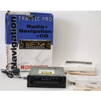 BECKER TRAFFIC PRO AUTORADIO CD + NAVIGATORE 4720 PORSCHE MERCEDES BENZ + CODE