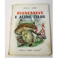 BIANCANEVE E ALTRE FIABE Fratelli Grimm Fabbri Editori 1954 Illustrazion Nardini