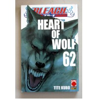 BLEACH HEART OF WOLF 62 Tite Kubo PLANET MANGA PANINI COMICS Ottobre 2014