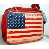 BORSA TERMICA VINTAGE FLAG BANDIERA AMERICA USA 7 LT