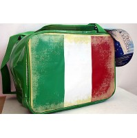BORSA TERMICA VINTAGE FLAG BANDIERA ITALY ITALIA 7 LT