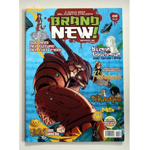 BRAND NEW! I nuovi eroi del fumetto italiano Free Books n.2 Gennaio 2006