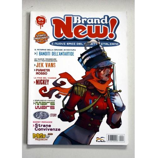 BRAND NEW! I nuovi eroi del fumetto italiano Free Books n.4 Maggio 2006