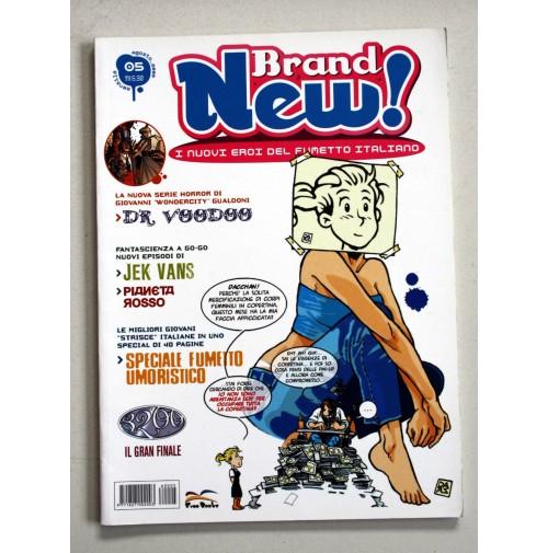 BRAND NEW! I nuovi eroi del fumetto italiano Free Books n.5 Agosto 2006