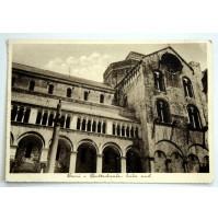 CARTOLINA BARI CATTEDRALE LATO SUD 1939 VIAGGIATA Ficarelli