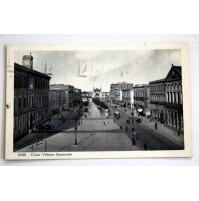 CARTOLINA BARI CORSO VITTORIO EMANUELE 1939 VIAGGIATA