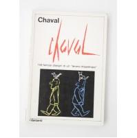CHAVAL 149 famosi disegni di un tenero misantropo I Garzanti 1973 S80