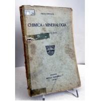 CHIMICA E MINERALOGIA per le scuole Medie Paolo Enriques Zanichelli 1925 E34